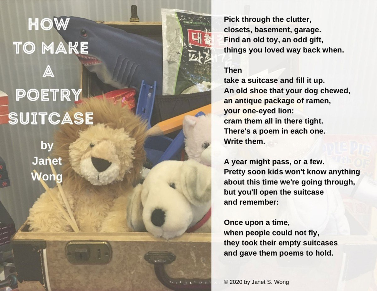 How to Make a Poetry Suitcase by Janet Wong